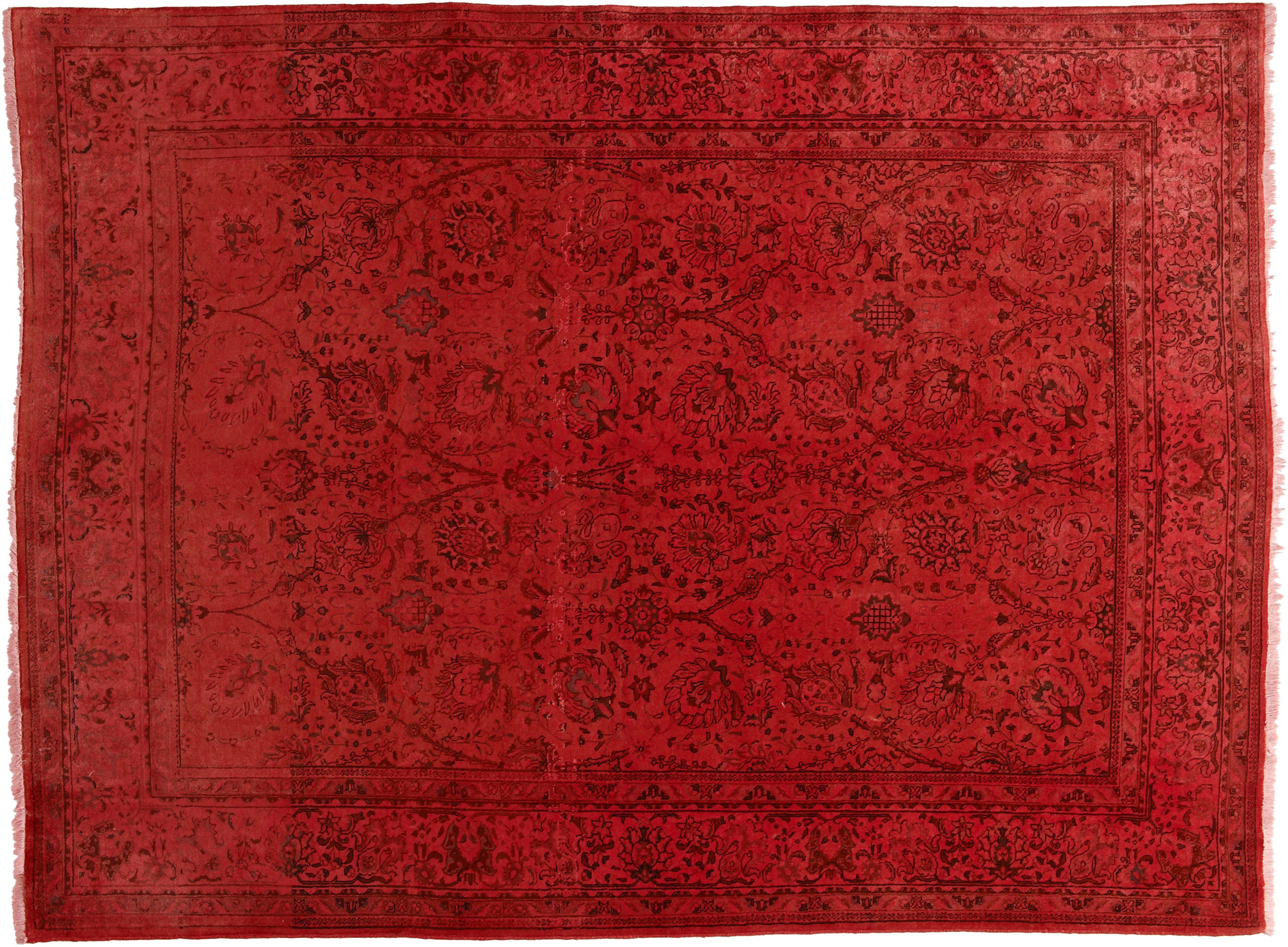 Kiskan Process Teppich Orientteppich Rot Gefärbt Orientteppich Teppich Orient