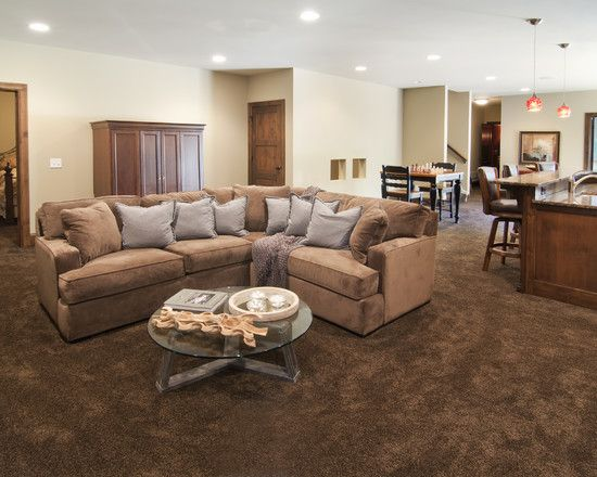 Bonus Room Design Ideas Pictures Remodel And Decor Brown Carpet Living Room Brown Carpet Bonus Room Design