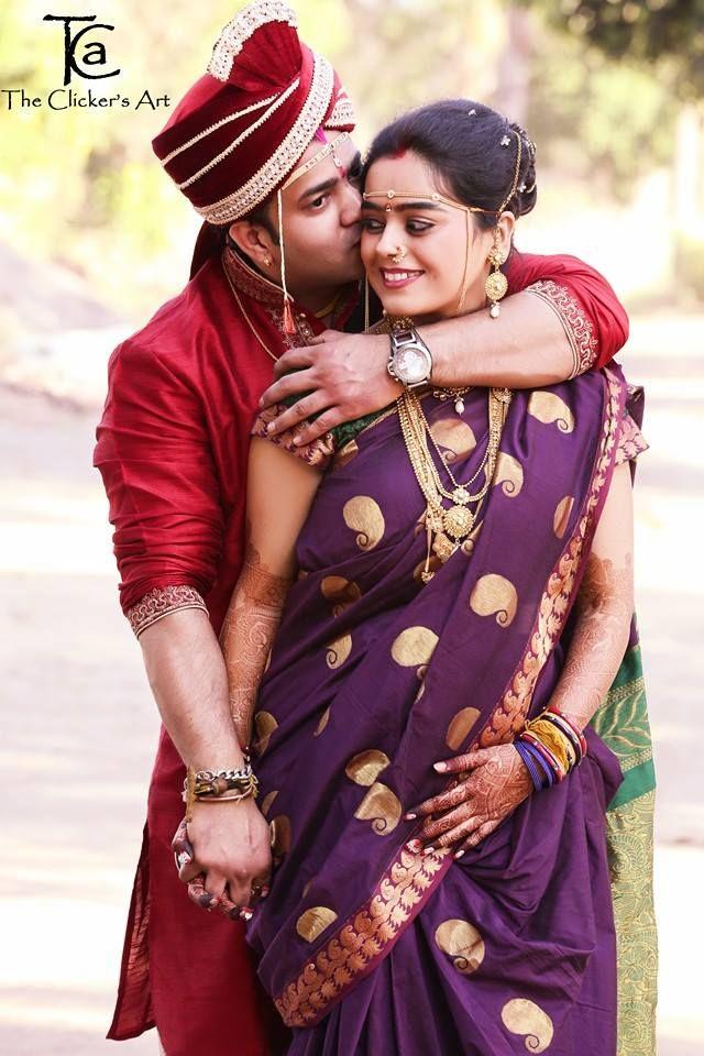 Photo By The Clicker Zart Nashik Weddingnet Wedding India Indian Indian Wedding Couple Wedding Couple Poses Photography Indian Wedding Couple Photography