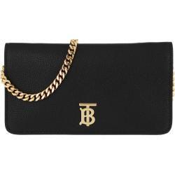 Burberry Tb Logo Chain Wallet Black in schwarz Umhängetasche für Damen Burberry