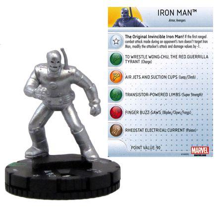 Marvel Heroclix Age of Ultron Iron Fist 004