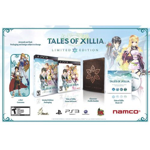 JRPG FANS! Tales of Xillia Limited Edition now on sale for the PlayStation 3!