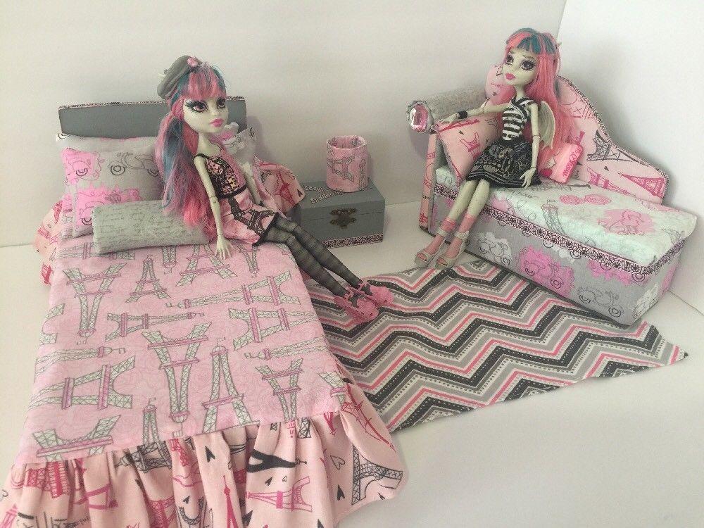 Details About Monster High Furniture Bedroom Set Rochelle
