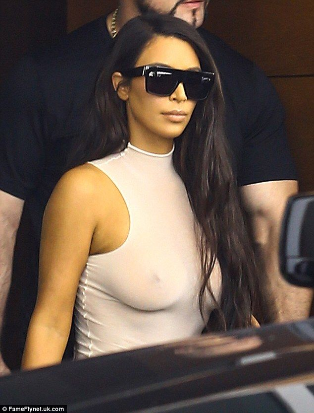 No bra, no problem: While her bra's absence seemed surprising at first, it…
