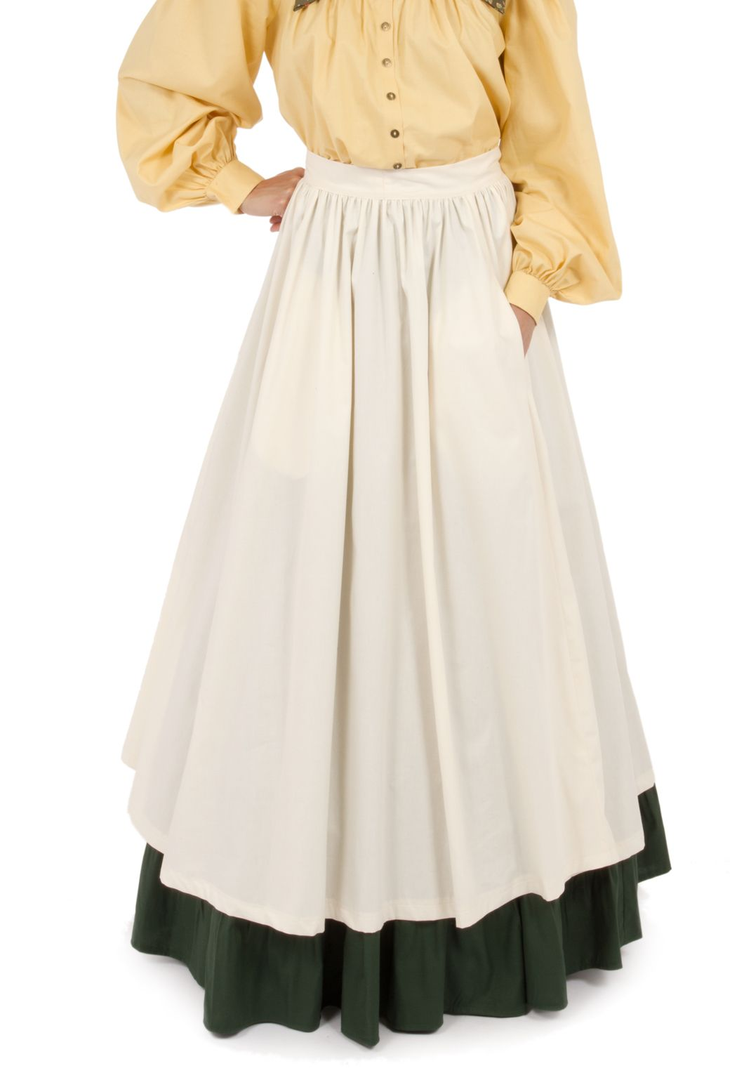 55cba87107 Peek into the past with this item from Recollections. Pioneer Costume,  Pioneer Dress,
