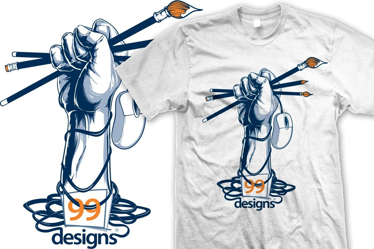 Shirt design cost - Create The Official 99designs Community T Shirt