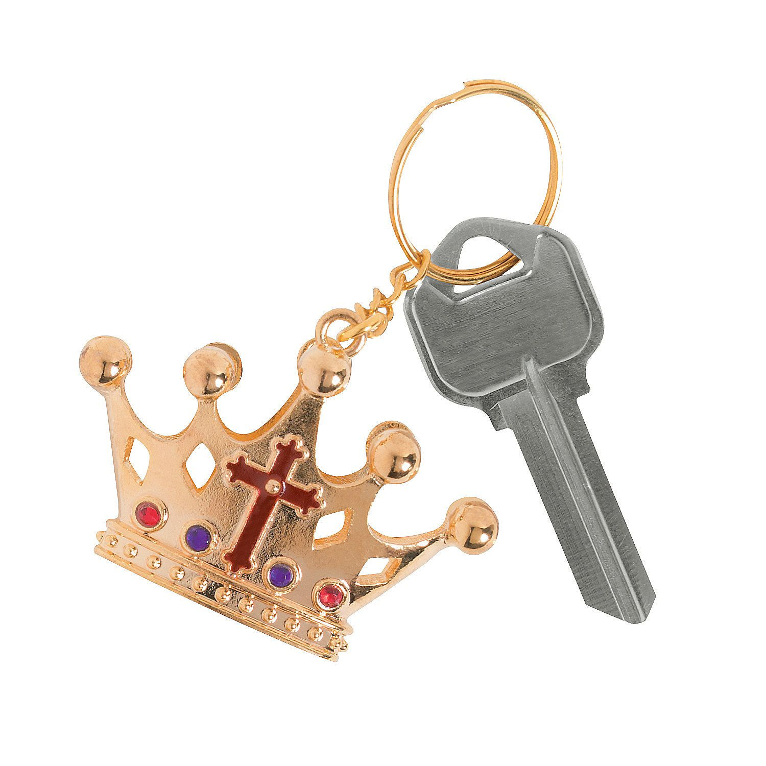 """""""King Of Kings"""" Key Chains - OrientalTrading.com"""