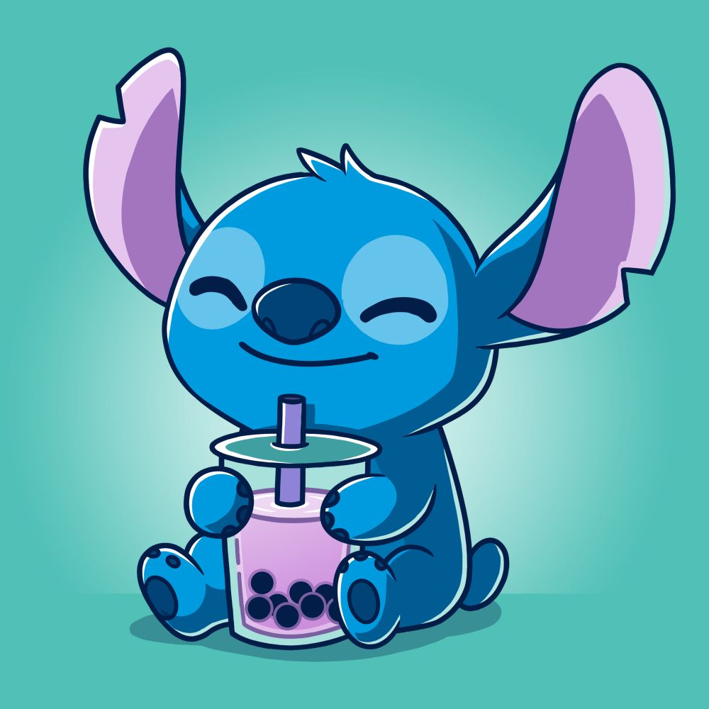 Boba Stitch Official Lilo Stitch Tee Cute Stitch Cute Disney Wallpaper Lilo And Stitch