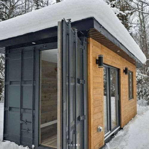 DWELL20 TINY CONTAINER CABIN | THE CASA CLUB