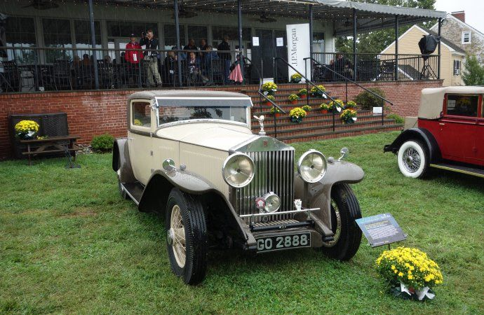 Rain Soaks But Doesnt Dampen Spirits At Radnor Hunt Concours Delegance Classiccars Com Journal Driveyourdream Classiccarsnews