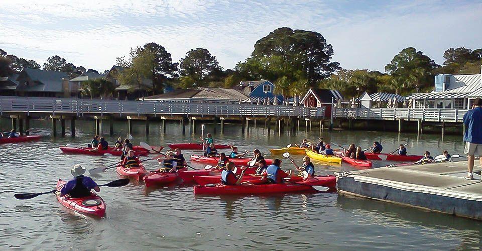 Hilton Head Kayak Tours and Rentals Kayak tours, Island