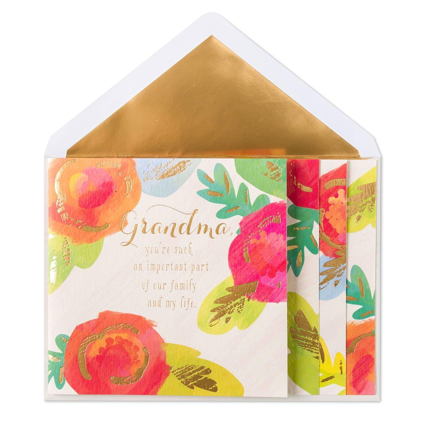 Important part birthday card for grandma card ideas pinterest