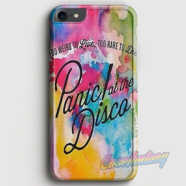 Panic At The Disco Watercolor iPhone 7 Case | casefantasy