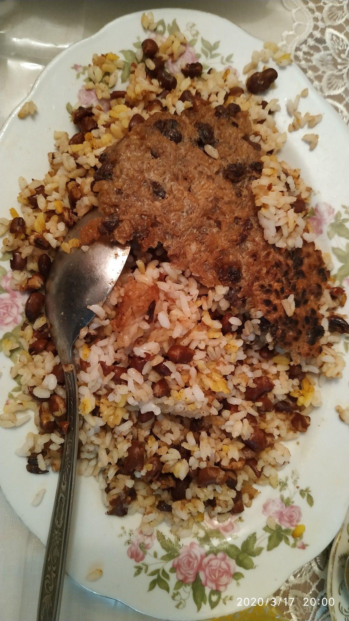Lobyali Plov Qazmaqli Food Breakfast Oatmeal