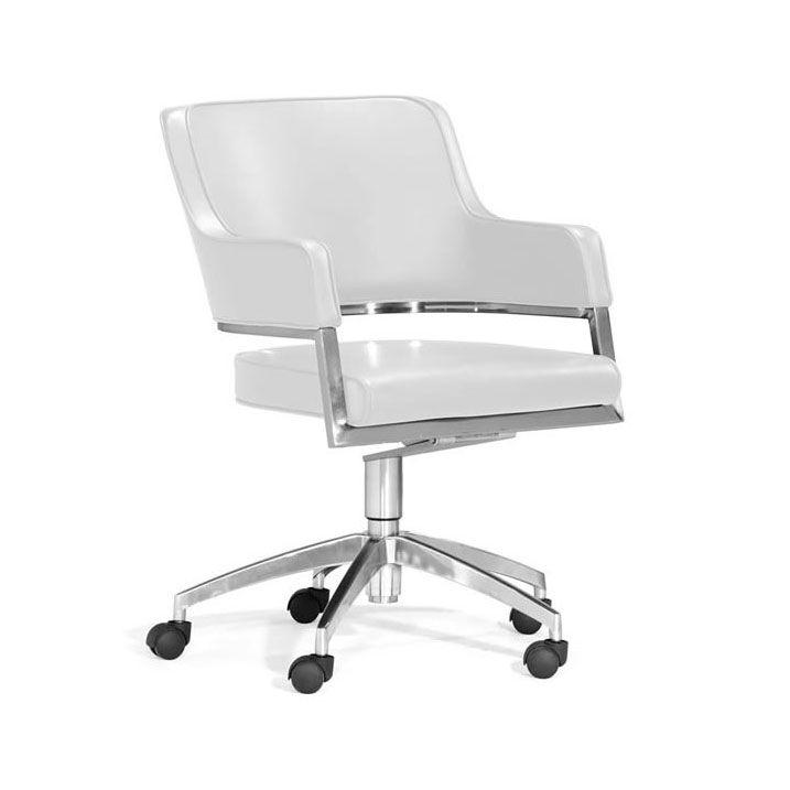 3cf3df940b3 Work   Roll Chair - White