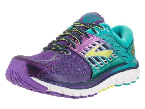 58fb0486a28 Brooks Women s Glycerin 14 Pansy Ceramic Lime Punch Running Shoe 6 Women  US