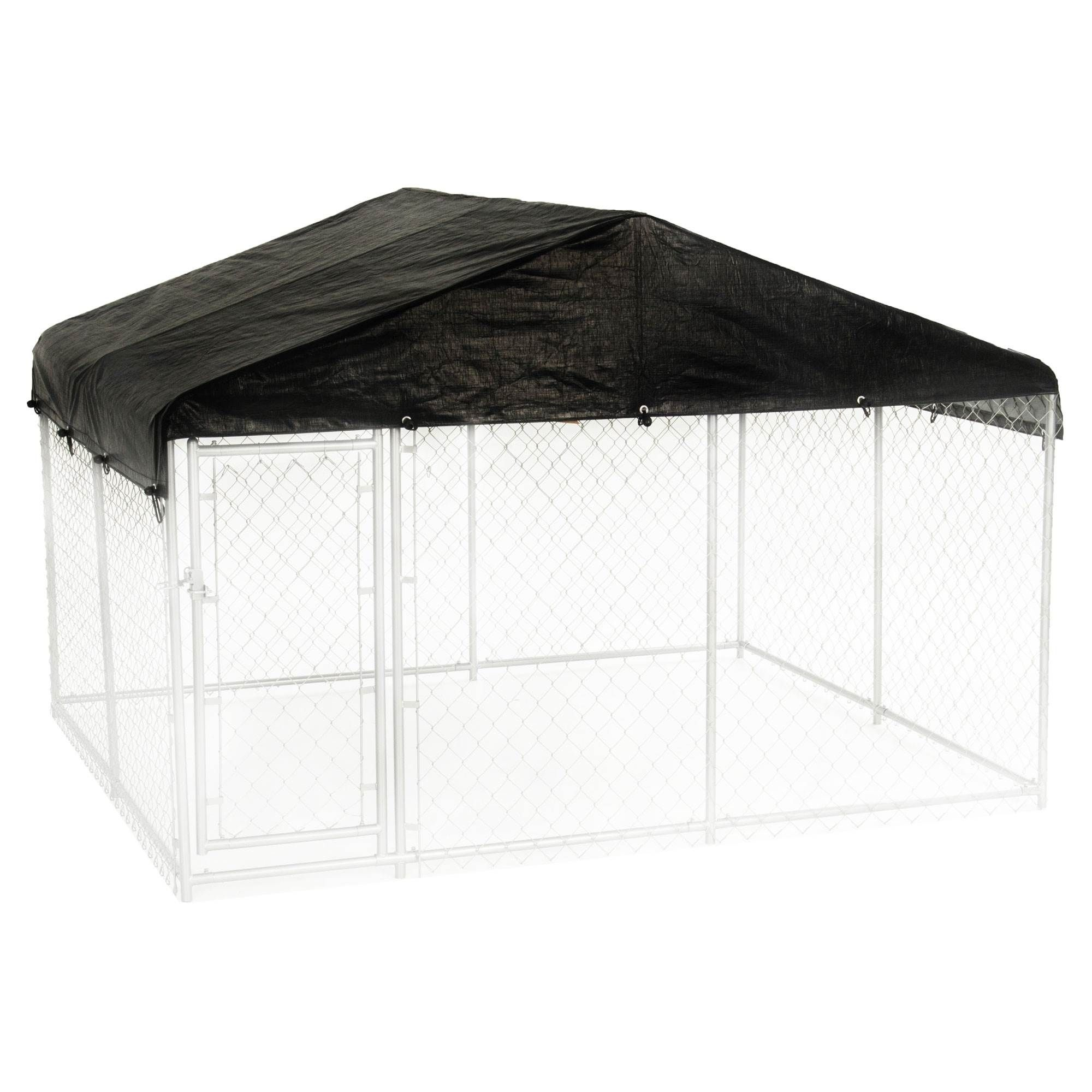 Pets Chain Link Dog Kennel Dog Kennel Roof Dog Kennel Cover