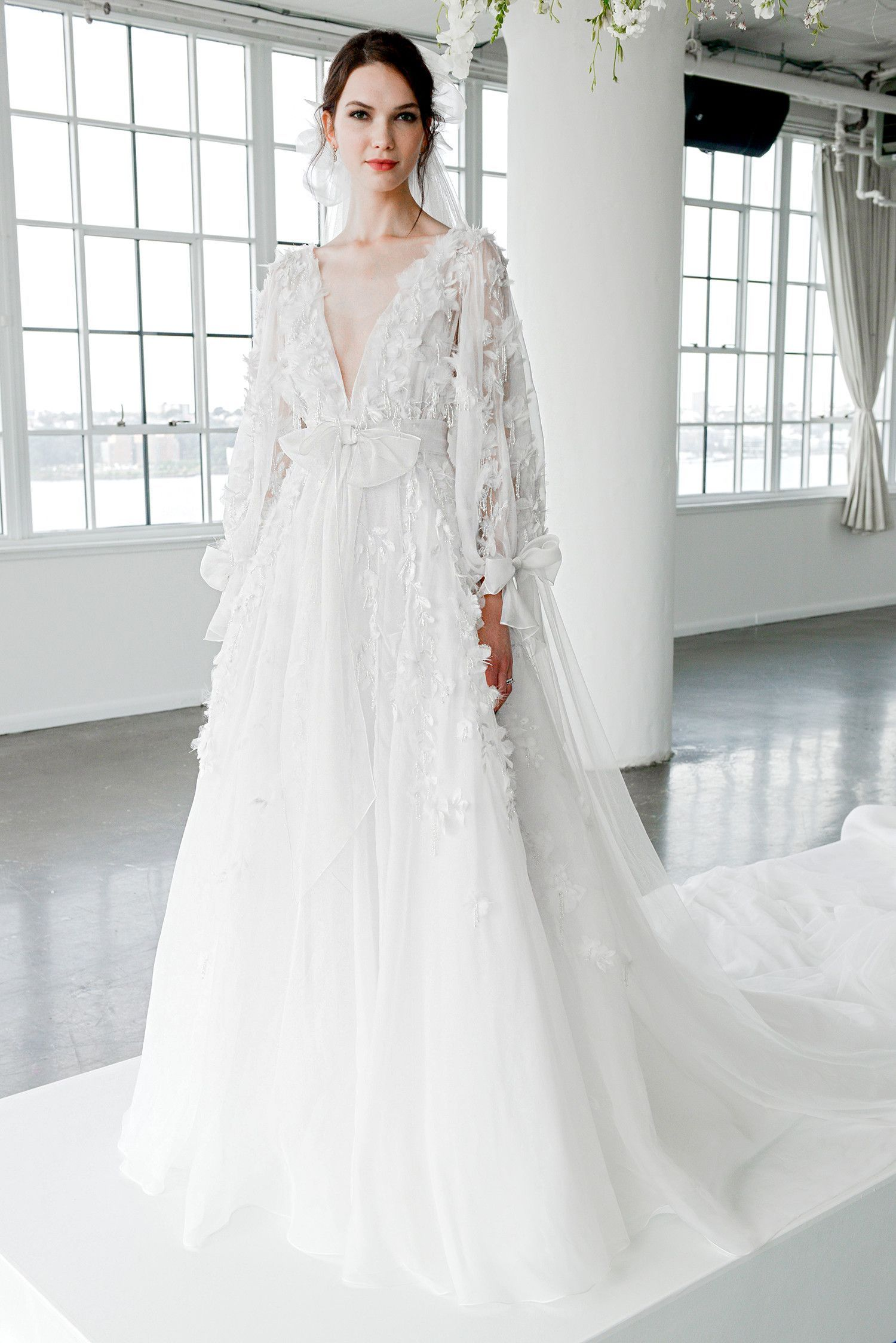 Marchesa Fall 2018 Wedding Dress Collection in 2020