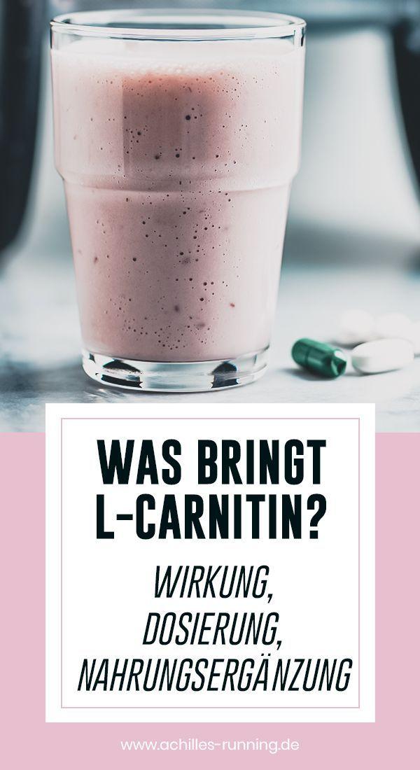 Was Bringt L Carnitin