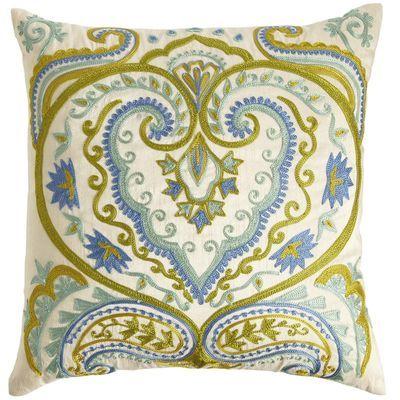 Damask Medallion Pillow