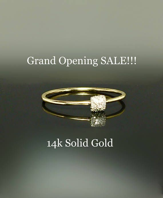 14k 10k Solid Gold Bar Ring Ladies Simple Gold Ring Gold Midi Ring 2 Finger Ring Gold Pinky Ring Gold Bar Ring Gold Pinky Ring Gold Finger Rings