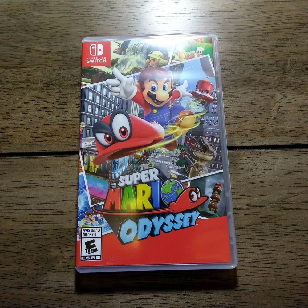 Super Mario Odyssey Nintendo Switch 2017 Pre Owned Super Mario Nintendo Switch Mario