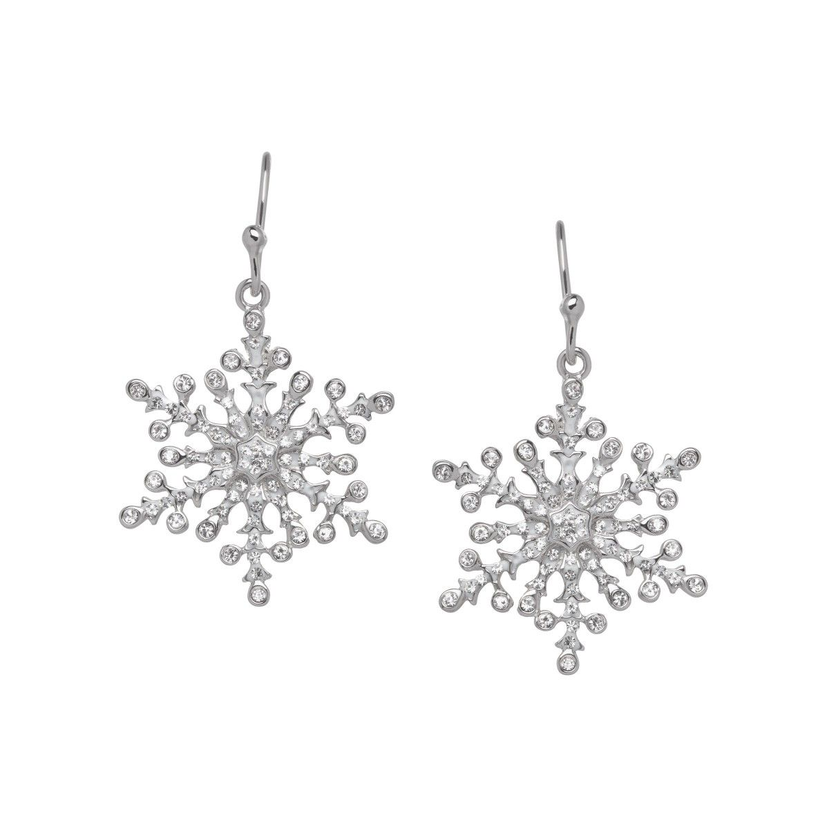 Image Result For Snowflake Earrings