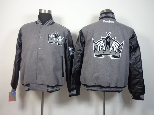 Men S Reebok Los Angeles Kings 2014 Stadium Series Coaches Full Button Jacket Silver Black With Images Jackets Gray Jacket Jacket Buttons