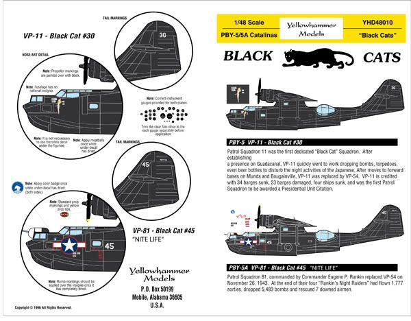 PBY Black Cats insignia
