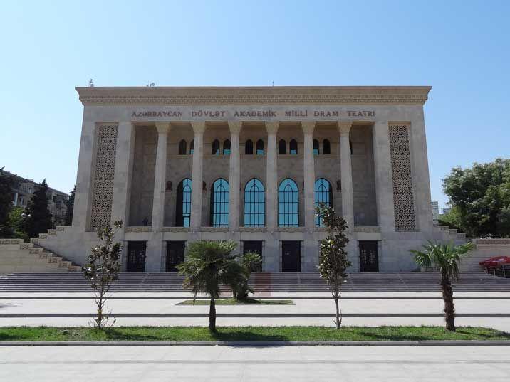 Картинки по запросу AZERBAIJAN STATE ACADEMIC DRAMA THEATRE