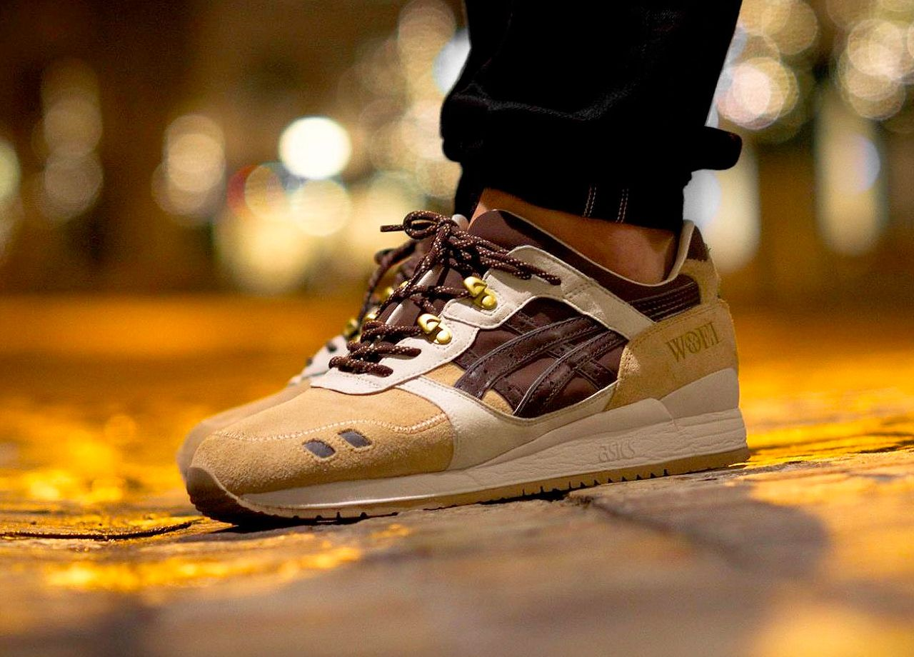 new concept 58a83 3b1bc Woei x Asics Gel Lyte III 'Cervidae' (by Theo ...