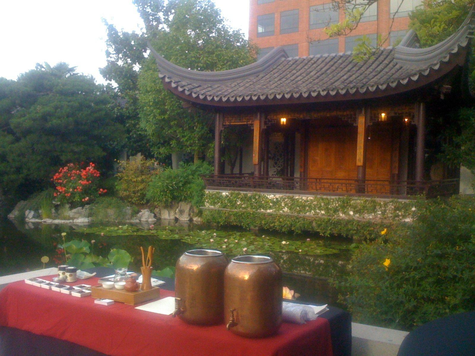 Lan Su Chinese Classical Gardens, Portland, Oregon