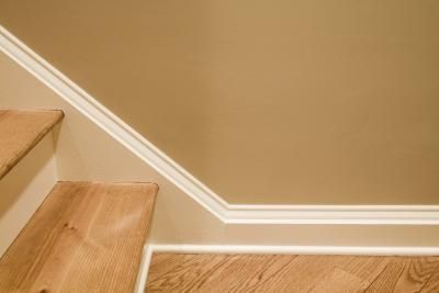 My Baseboard Molding Is Higher Than Stair Steps thumbnail I don't like the corner round