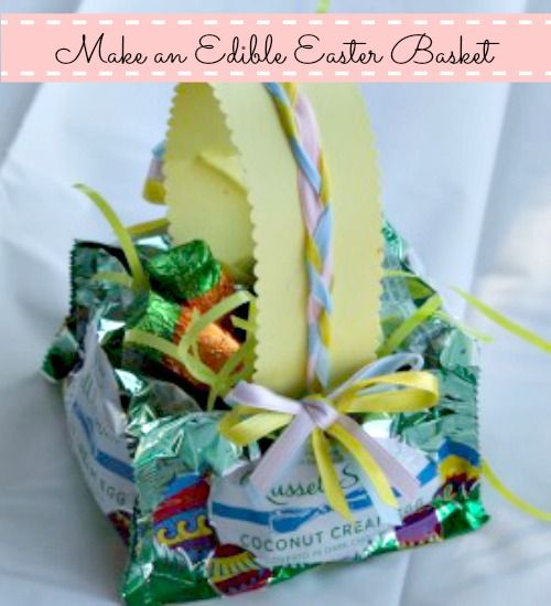 Eastercrafts easter crafts how to make an edible easter basket eastercrafts easter crafts how to make an edible easter basket negle Gallery