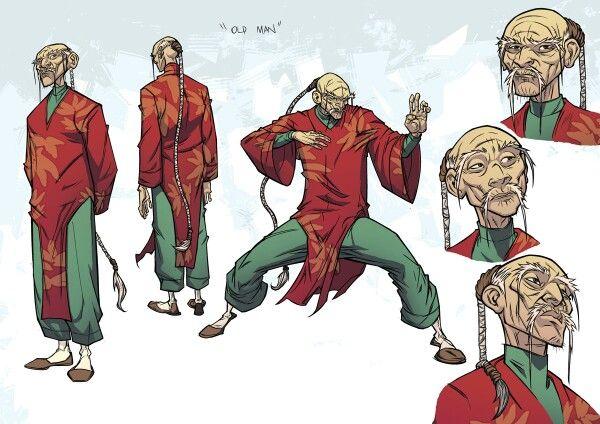 Character Design Old Man : Old man character design fang pinterest