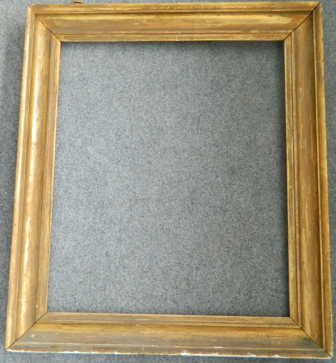 Early Gold Frame W 34 1 2 By 30 Inches Front And 29 24 Inch Back Olartiesoldthings On Etsy