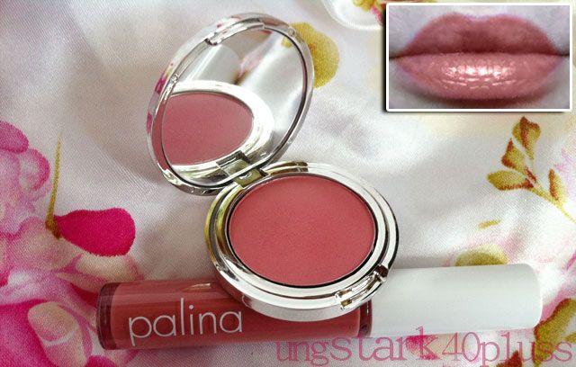 Cozy Gloss och I Feel Pretty Blush från svenska Palina