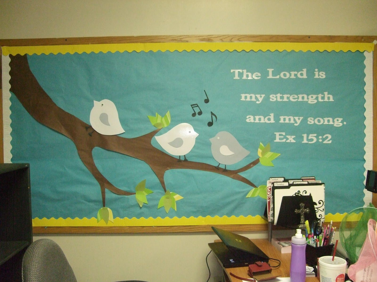 Christian easter bulletin board ideas - Sunday School Bulletin Boards Another Spring Board Tree Branch With Cute Easter Bulletin Boardschristian