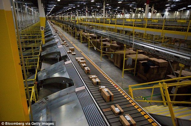 Amazon Warehouse Workers Shamed Into Not Stealing On Big Screens