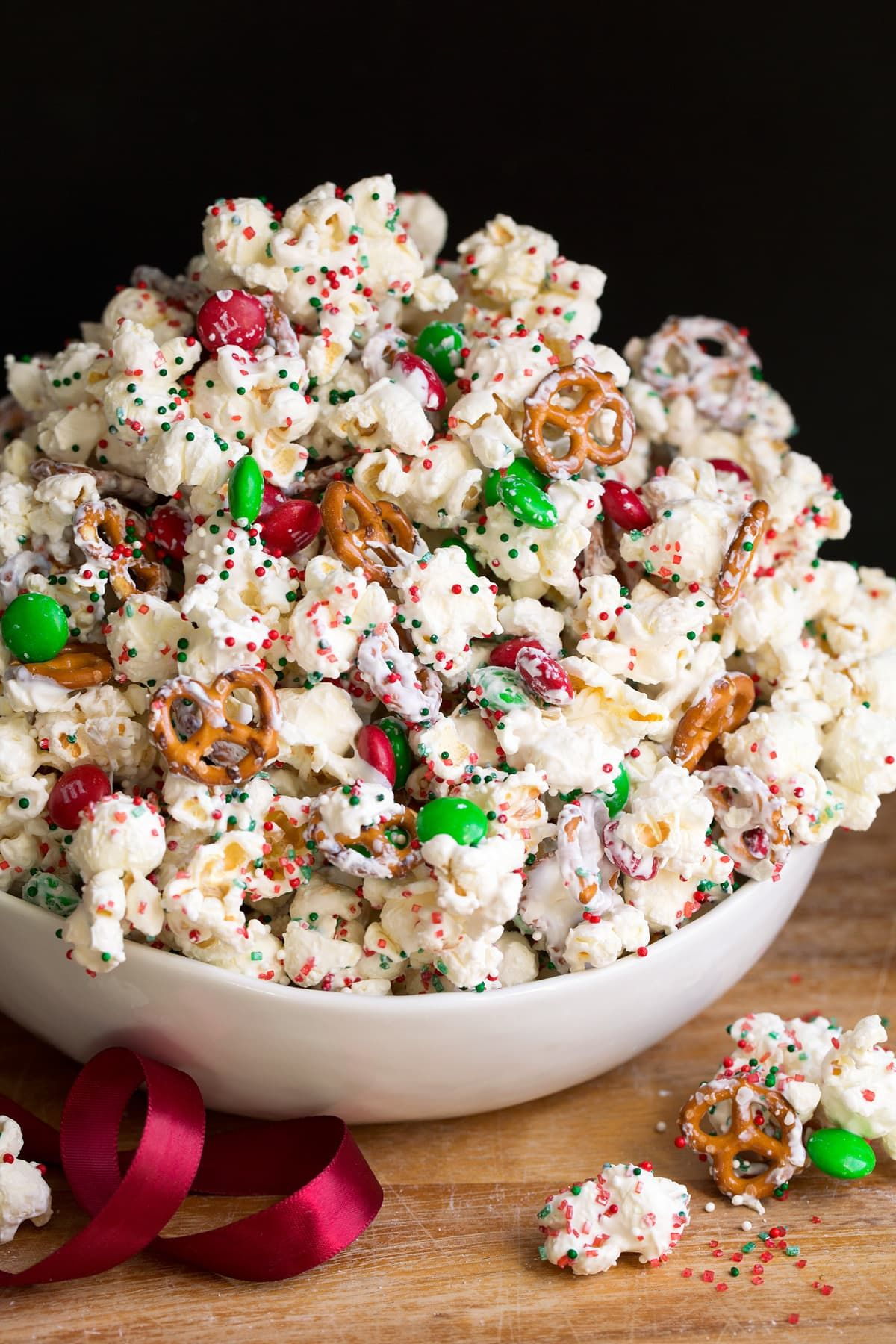 Christmas Crunch. Bring some holiday spirit to your snacks