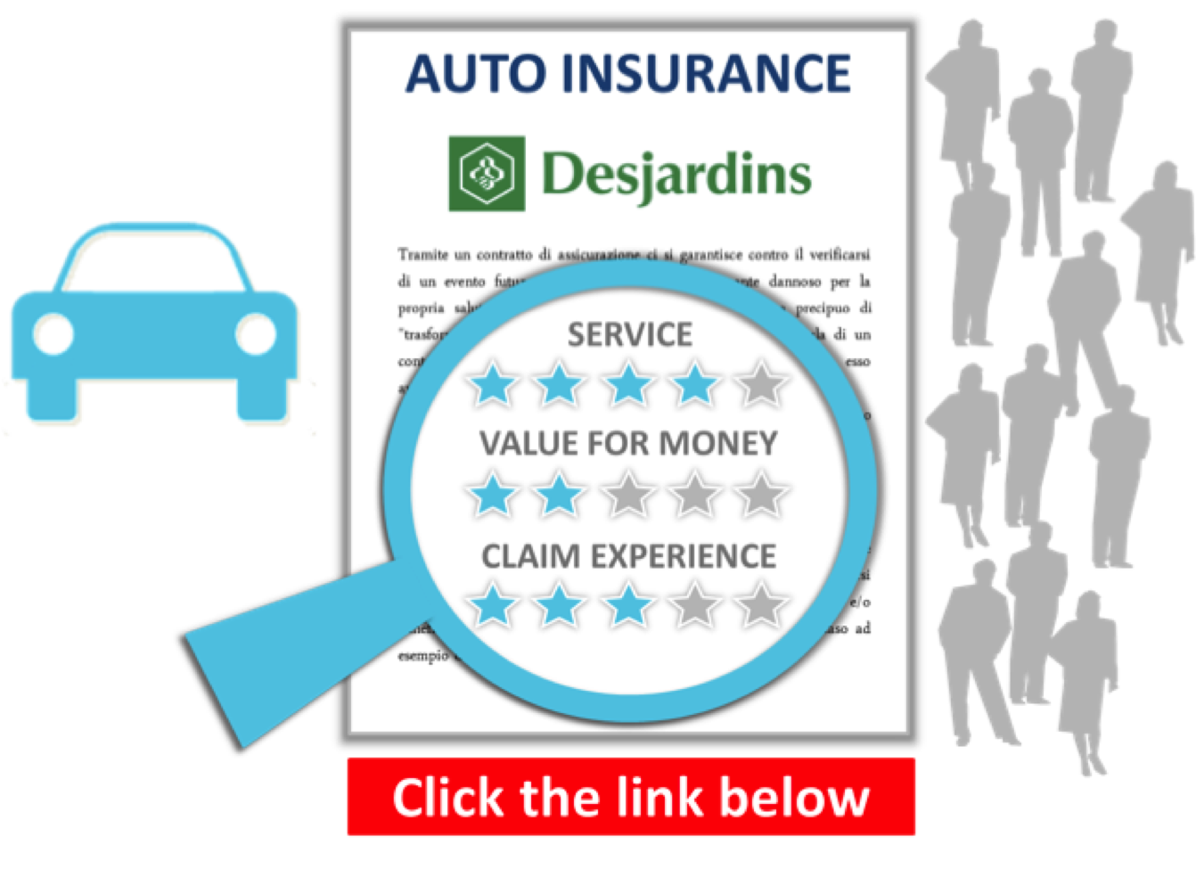Independent Consumer Reviews for Desjardins Auto Insurance