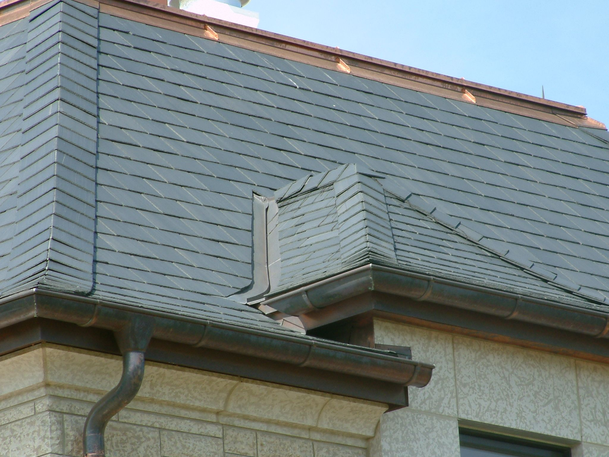 Natural Slate Roof Slate Roof Outdoor Decor North Country