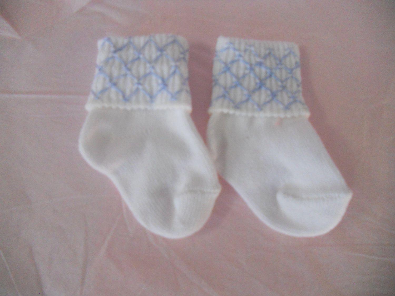 Smocked Baby Socks 10 00 Via Etsy Babies Pinterest Socks
