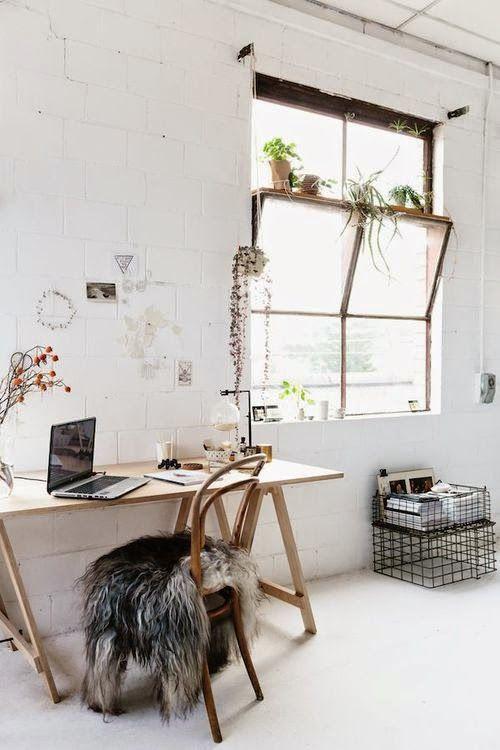 O  meu escritório de sonho....em casa