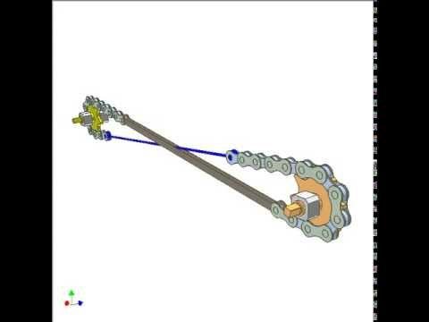 Chain Mechanism For Reversing Rotation 1 Youtube Farm Tools