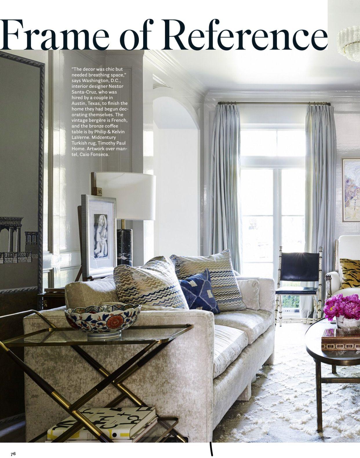 Interior Designer Nestor Santa-Cruz, Photography Bjorn Wallander ...
