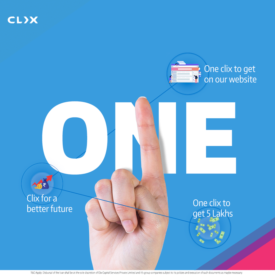 One Click To Get 5 Lakhs Clix Capital Personal Loans Personal Loans Online How To Apply