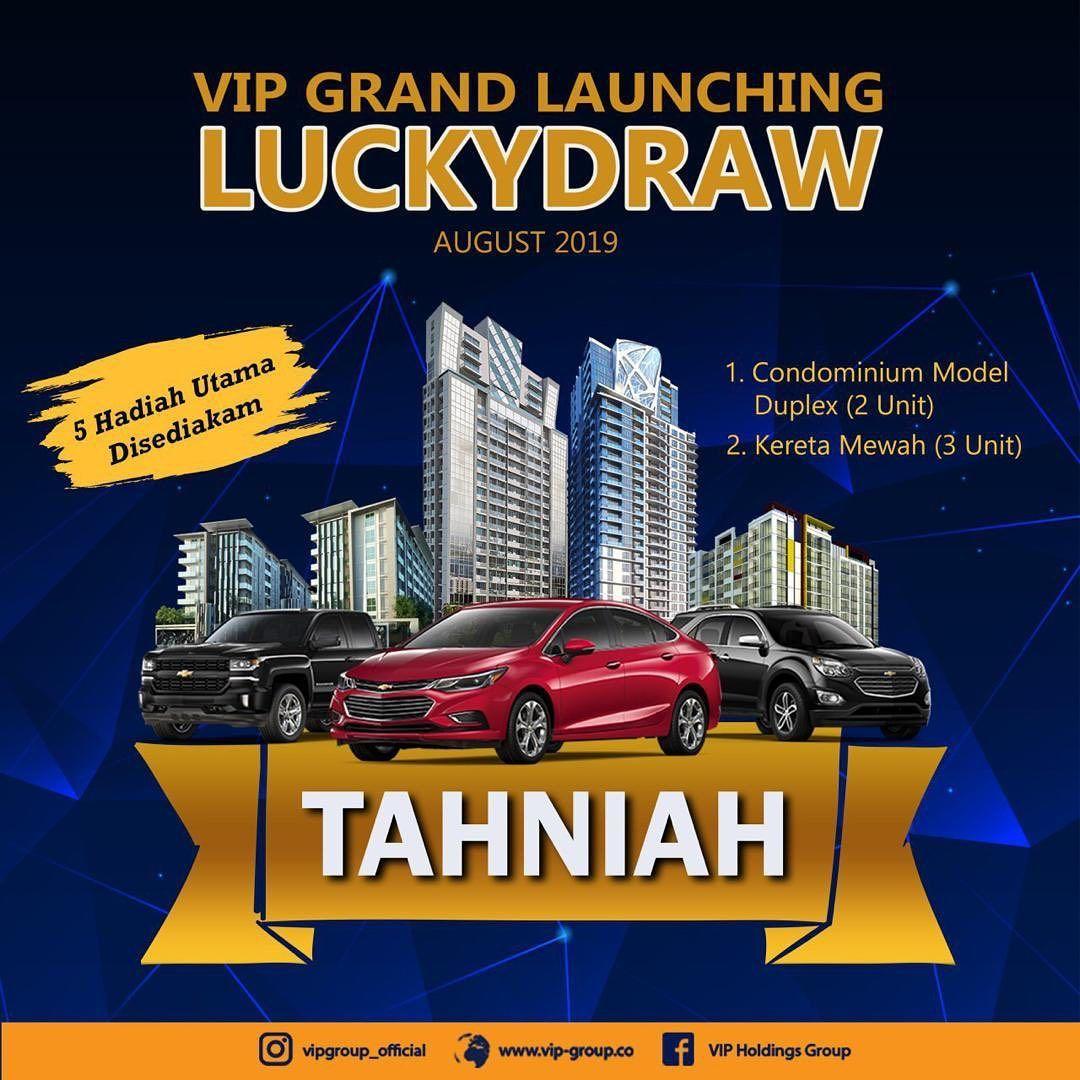 Vip Grand Launching Luckydraw 5 Hadiah Utama Disediakan 2 Unit Condominium Model Duplex Dan 3 Unit Kereta Mewah Hanya Business Investors Investing Medan