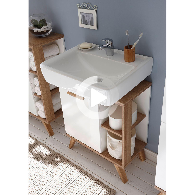 Vanity Cabinet Noventa In 2020 Small Bathroom Storage Small Bathroom Decor Pedestal Sink Storage