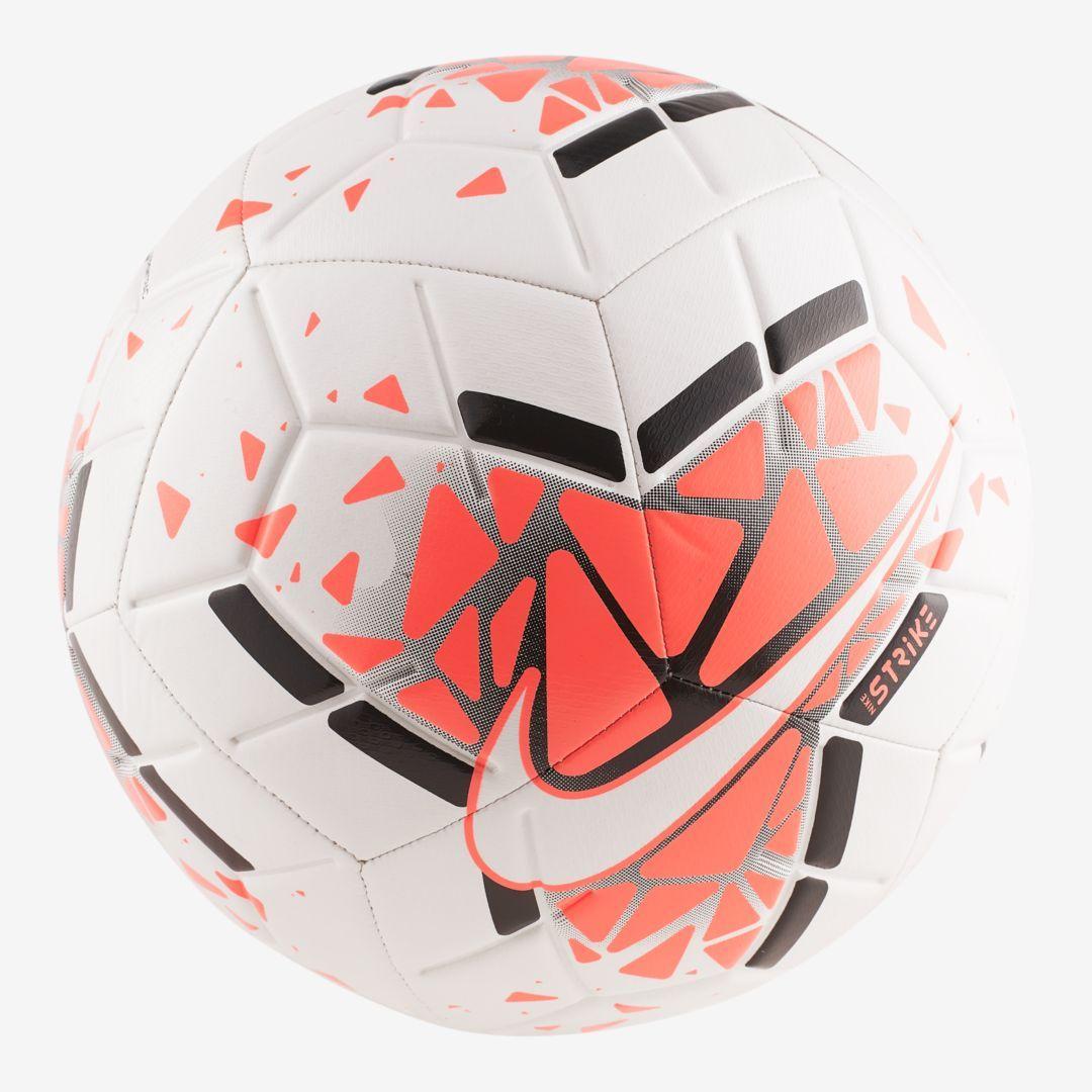 Nike Strike Soccer Ball Nike Com In 2020 Soccer Ball Soccer Soccer Bag